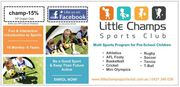 Little Champs Sports Club! – Preschool Sports Program