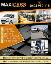 Maxi cab hire Melbourne | Maxi taxi hire Melbourne
