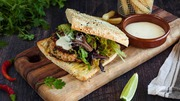 Coriander and Chilli Infused Chicken Burger Recipe at Goodman Fielder