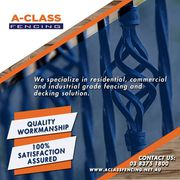 Aclass Fencing – Fencing Company Melbourne