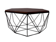 Buy Stylish & Affordable Hexagonal Coffee Table Online!