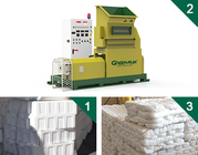 plastics foam melting machine of GREENMAX MARS SERIES