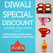 Incredible Diwali Specials from India At Home