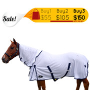 Unicorn Summer Fly Mesh 410Gsm Combo Horse Rug