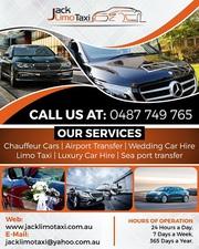 Melbourne Chauffeur Services | Jack Limo Taxi