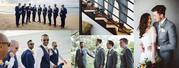Affordable Custom-Made Suit For Groom and Groomsmen