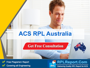 ACS RPL Australia from RPLReport.com