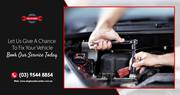 For Professional Car Service in Melbourne,  Call Now