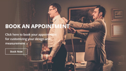 Schedule an Appointment with our Bespoke Tailor in Richmond