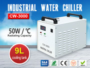 S&A Industrial Water Chiller CW-3000 for CNC Spindle Engraving Machine
