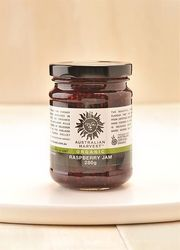Organic,  Healthy and Delicious Raspberry Jam