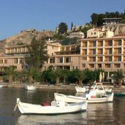 A Greek Island Holiday Haven For Tourists and Pelicans