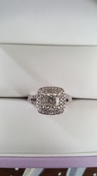 Engagement Ring-118diamonds-1.01ct Centre stone-MAKE ME AN OFFER!