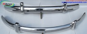 VW Beetle Euro style bumper in stainless steel