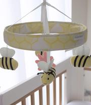 Cot musical mobile for baby online at Littlecherubsbabyshop.com