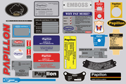 Papillon Nameplates | Metal Nameplates | Metal Tags | ID Tags