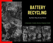 Battery Recycling Croydon | Battery Disposal Ringwood