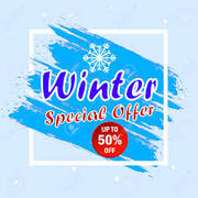 special winter offer for Friday