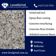 Concrete Floor Grinder in Geelong & Surf Coast