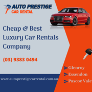 Cheap & Best car Rentals Company in Essendon