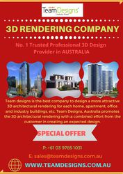 3D Rendering Design Services