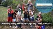 Amazing Party Venue Near Sydney Laser Warriors