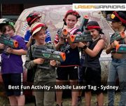 Best Fun Activity - Mobile Laser Tag - Sydney