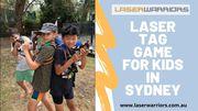 Laser Tag Game For Kids In Sydney | Laser Warriors