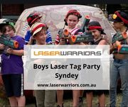 Boys Laser Tag Party Syndey | Laser Warriors