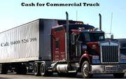 Cash for trucks - Truckswrecker.com.au