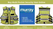 Buy Multi Pocket Security Vest Online