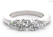 Three Stone Diamond Engagement Rings | Forever Yours