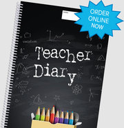 Get Personalised Teacher Diary Manufactured for Less