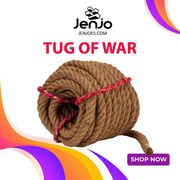 Tug of War   Quality Sisal Rope   Jenjo Games - Australia