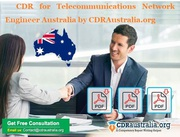CDR for Telecommunications Network Engineer Australia by CDR Australia