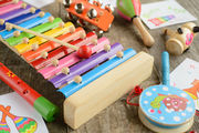 Xylophone with Wooden Mallets   Jenjo Games - Australia