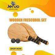 Wooden Frescobol Set | Best for Outdoor Fun | Jenjo Games - Australia