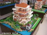 Manufacturing architectural scale model